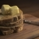 Stack Of Bread Slices And Melting Butter - VideoHive Item for Sale