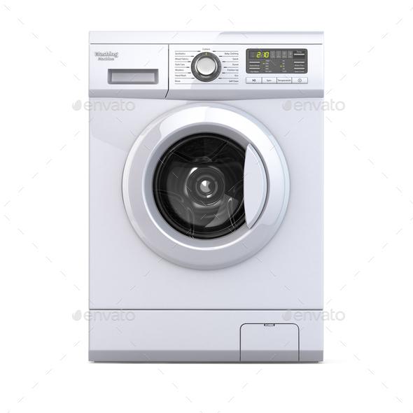 Washing machine. - Stock Photo - Images