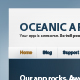Oceanic: Web app site - ThemeForest Item for Sale