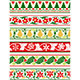Christmas Floral Borders - GraphicRiver Item for Sale