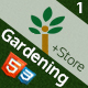 Gardening - Landscaping & Patio Website Template, Responsive HTML CSS - ThemeForest Item for Sale