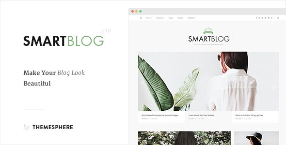Blog Theme – SmartBlog