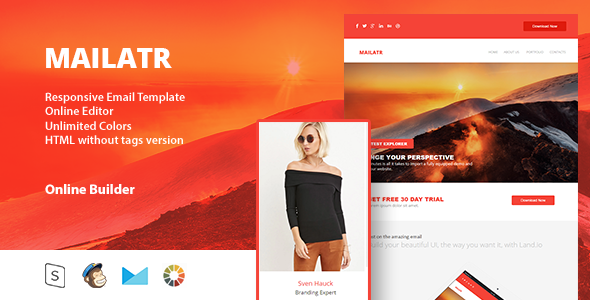 Mailart - Responsive Email Template - Email Templates Marketing