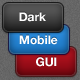 Dark Matte Mobile Interface Elements PSD - GraphicRiver Item for Sale