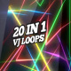 Neon Lasers And Lights VJ Pack - VideoHive Item for Sale