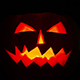 Scary Halloween Pumpkin Jack-O-Lantern Candle Lit - VideoHive Item for Sale