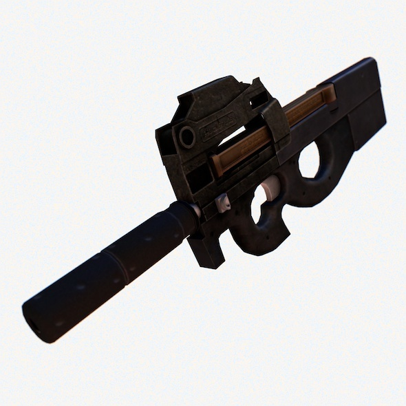 FN P90 - 3DOcean Item for Sale