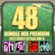 48 Bundle Mix Premium Text Effect Styles Vol 8 - GraphicRiver Item for Sale