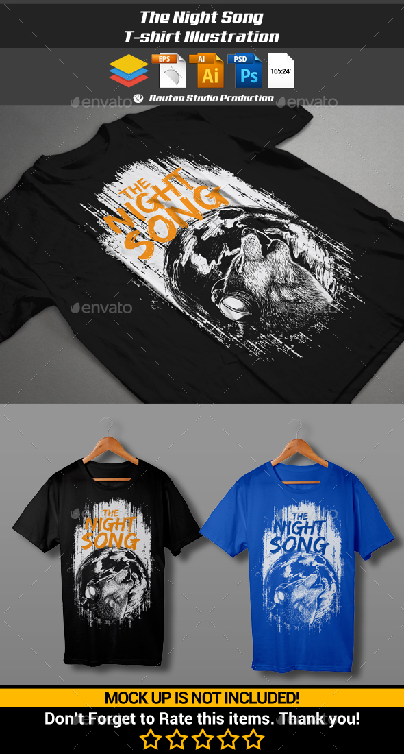 The Night Song - Designs T-Shirts