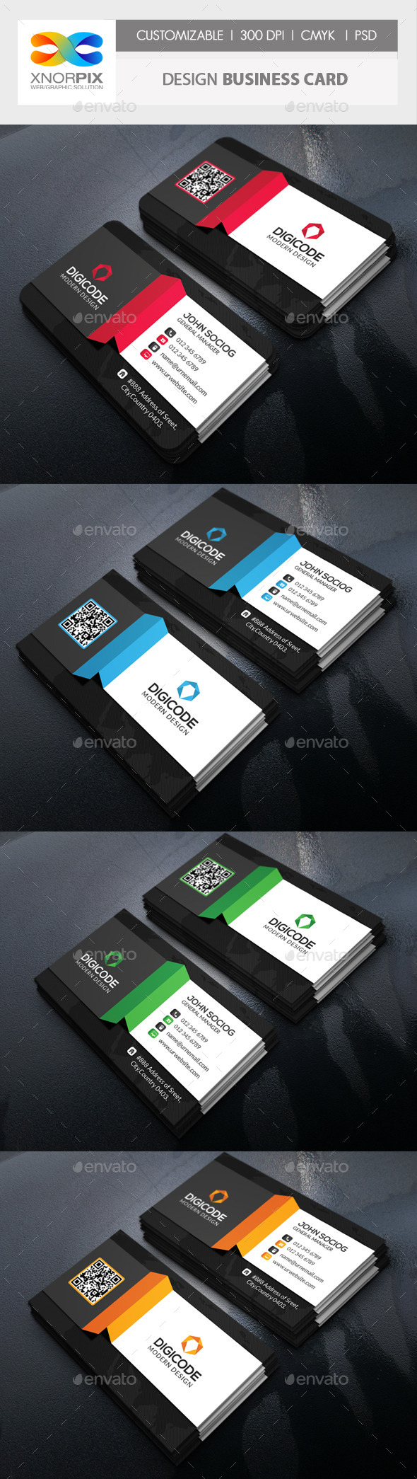 Design Business Card - Corporate Business Cards