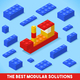 Toy Block Ship Games Isometric - GraphicRiver Item for Sale