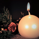 White Candle Christmas - VideoHive Item for Sale