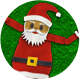 Christmas Dancing Characters With Alpha - VideoHive Item for Sale