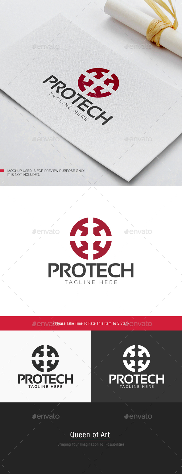 Protech Logo - Objects Logo Templates