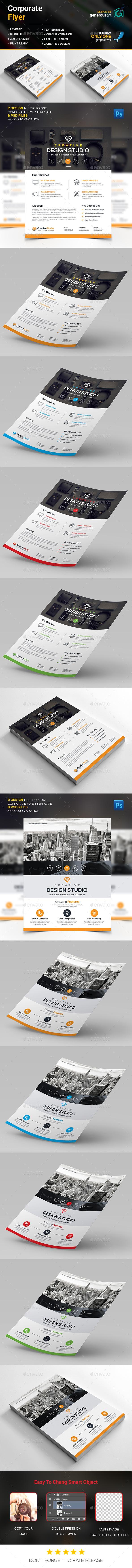 Corporate Design Flyer - Corporate Flyers