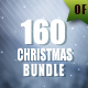 160 Christmas Backgrounds Bundle - GraphicRiver Item for Sale