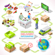 Delivery 03 Infographic Isometric - GraphicRiver Item for Sale