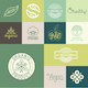 Natural Badges - GraphicRiver Item for Sale