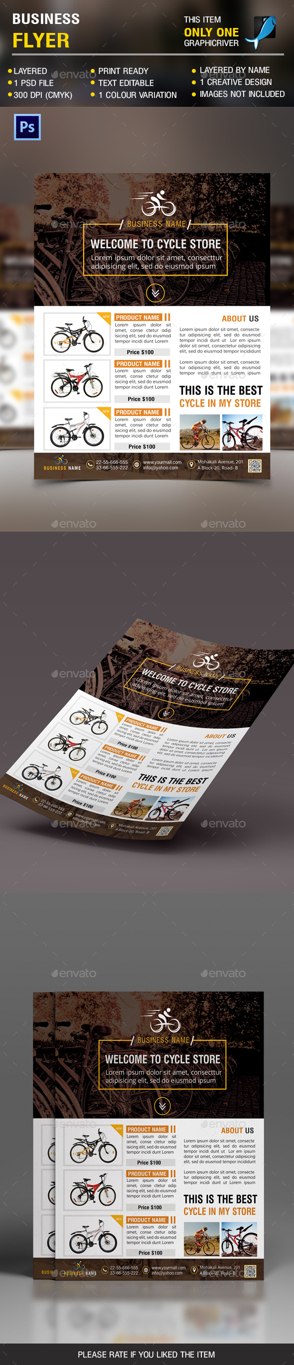 Sell Cycle Flyer - Corporate Flyers