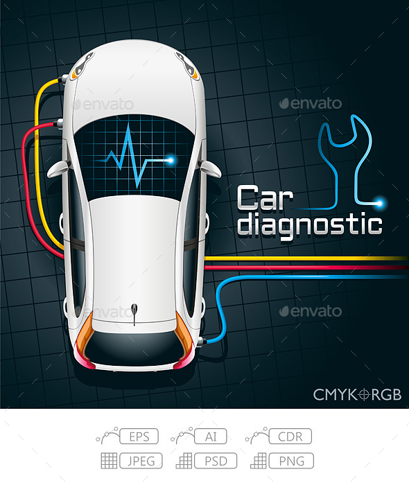 Car Diagnostics Device - Services Commercial / Shopping