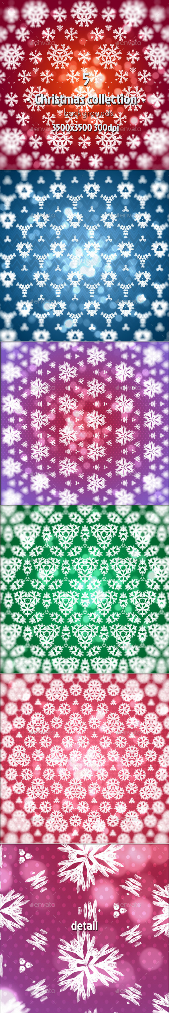 Christmas Collection - Miscellaneous Backgrounds