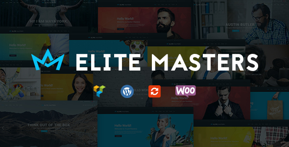 Business Multi-Purpose WP Theme | EliteMasters - Business Corporate