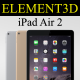 Element3D - Apple iPad Air 2