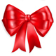 Set Of Red Bows - GraphicRiver Item for Sale