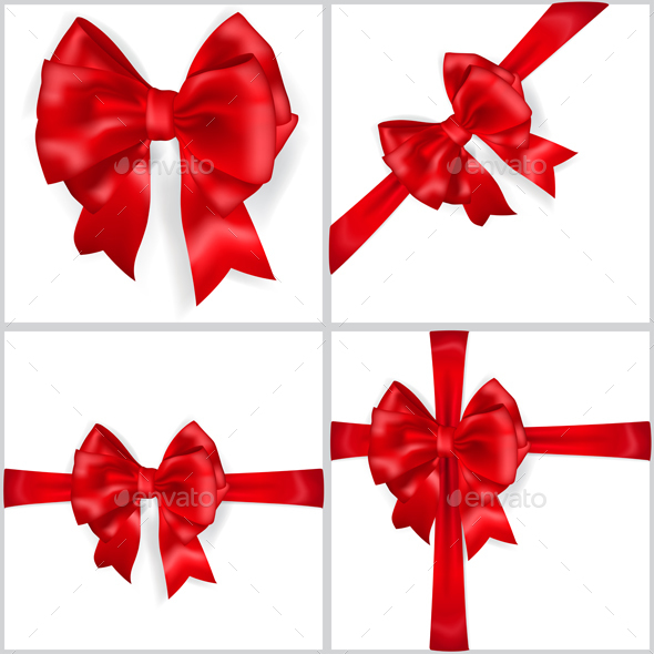 Big Red Bow - Decorative Symbols Decorative