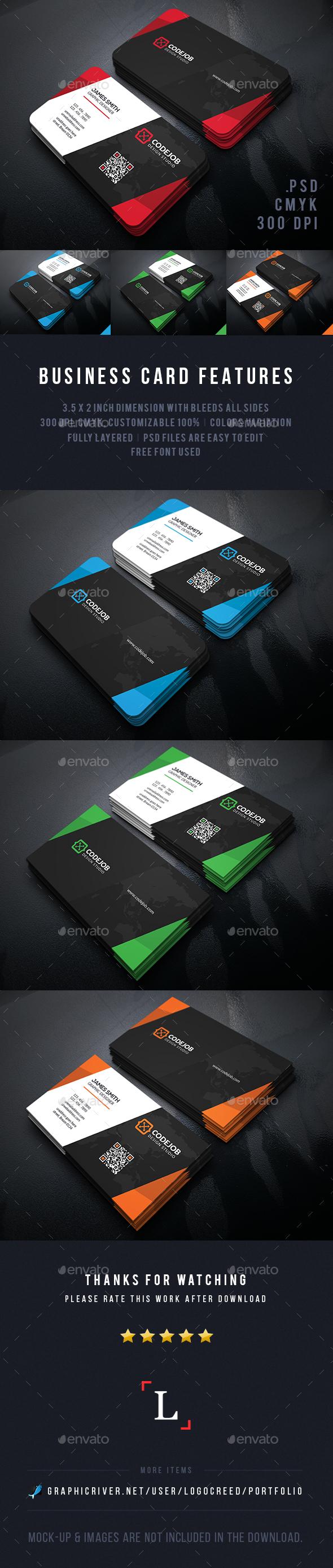 Design Business Cards - Business Cards Print Templates