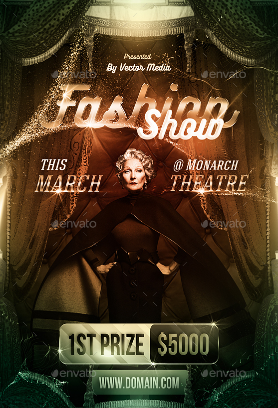Fashion Show - Flyer [Vol.07] by VectorMedia | GraphicRiver
