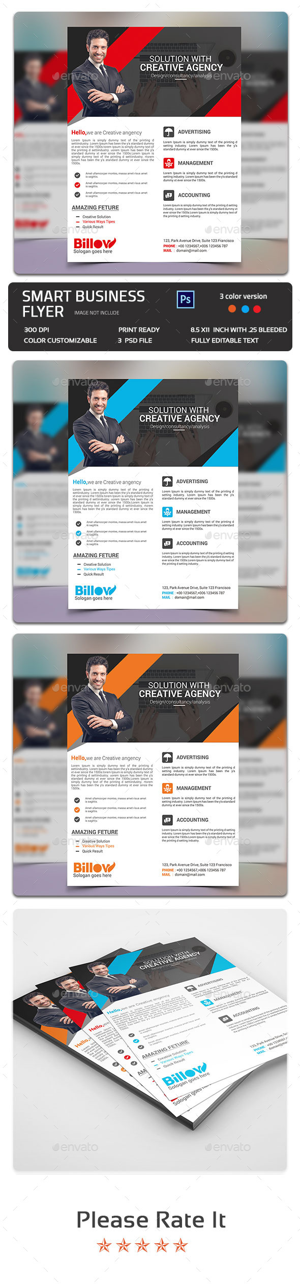 Smart Business Flyer - Flyers Print Templates
