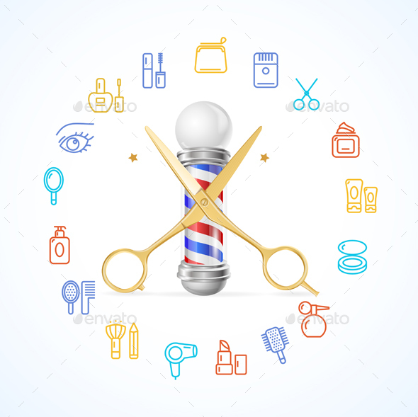 Barber Concept - Services Commercial / Shopping