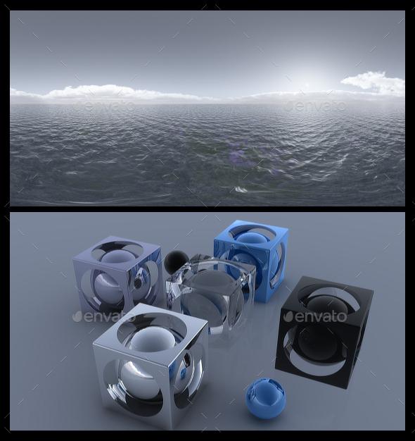 Ocean Grey - HDRI - 3DOcean Item for Sale