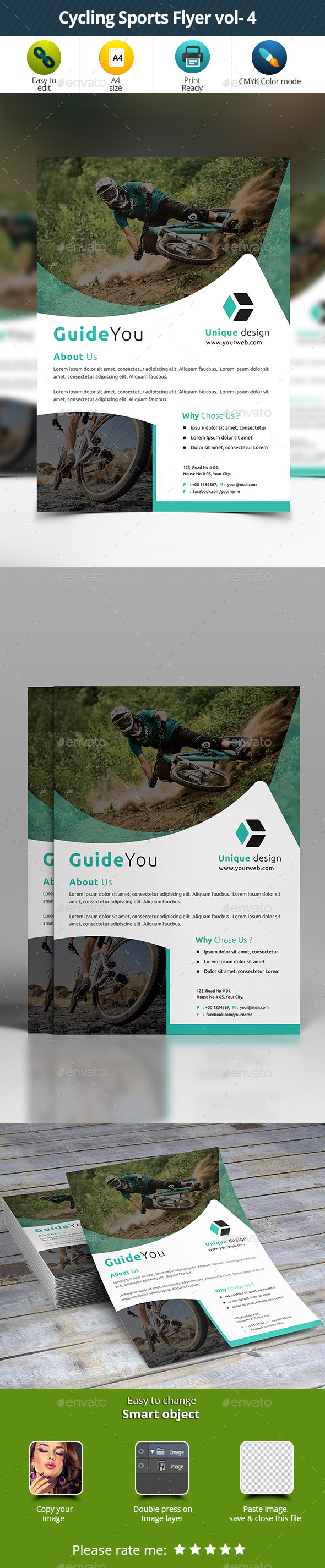 Cycling Sports Flyer vol- 4 - Sports Events