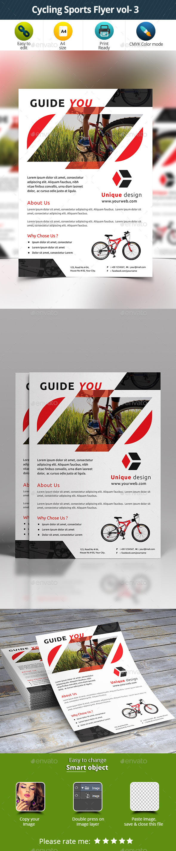 Cycling Sports Flyer vol- 3 - Sports Events
