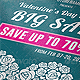 Valentine's Day Sale Flyer / Poster - GraphicRiver Item for Sale