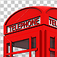 British Phone Booth 3D - GraphicRiver Item for Sale