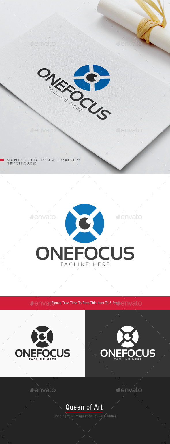 One Focus Logo - Objects Logo Templates