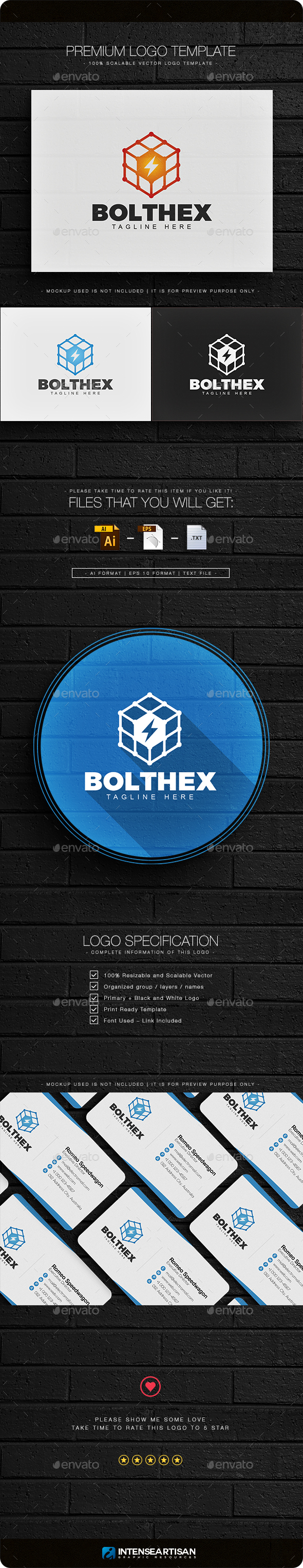 Bolthex Logo - Objects Logo Templates