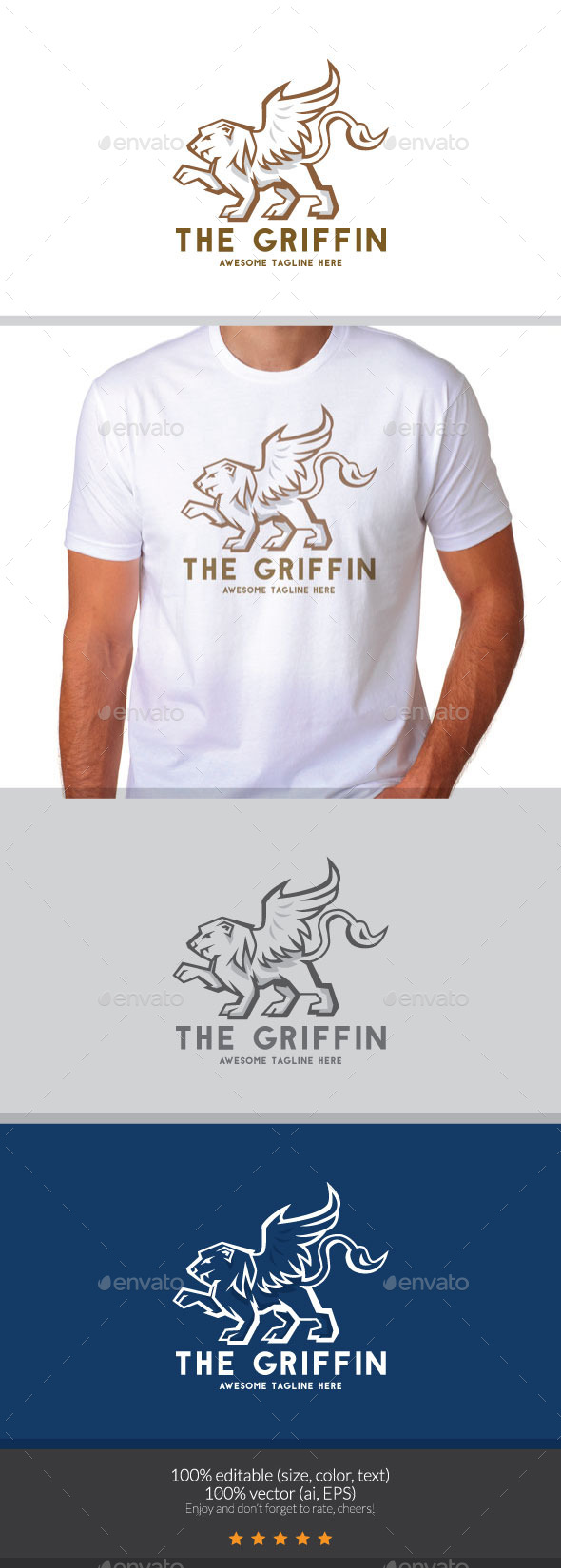 The Griffin Logo - Objects Logo Templates