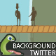 Monster Twitter background - GraphicRiver Item for Sale