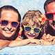 Happy Family Having Fun In Swimming Pool - VideoHive Item for Sale
