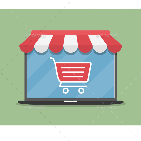 Online Store - Commercial / Shopping Conceptual