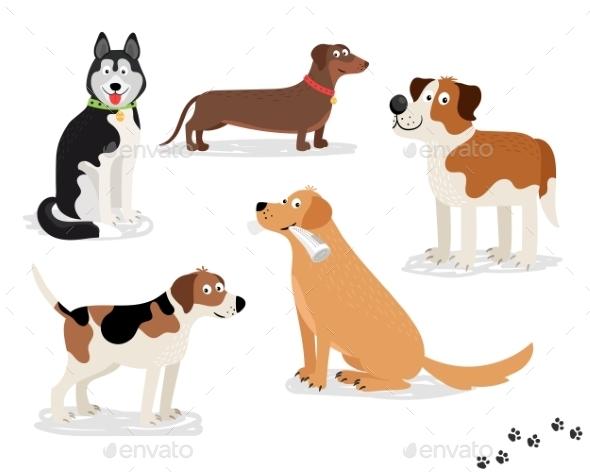 Dog Characters - Animals Characters