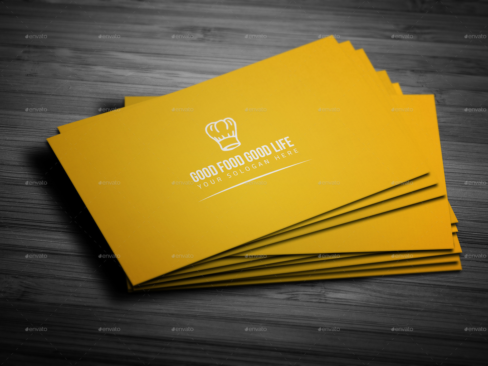 restaurant business card by mehedi hassan