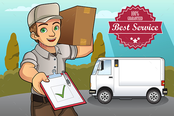 Delivery Man - Services Commercial / Shopping