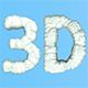 Snow Letters 3D - GraphicRiver Item for Sale