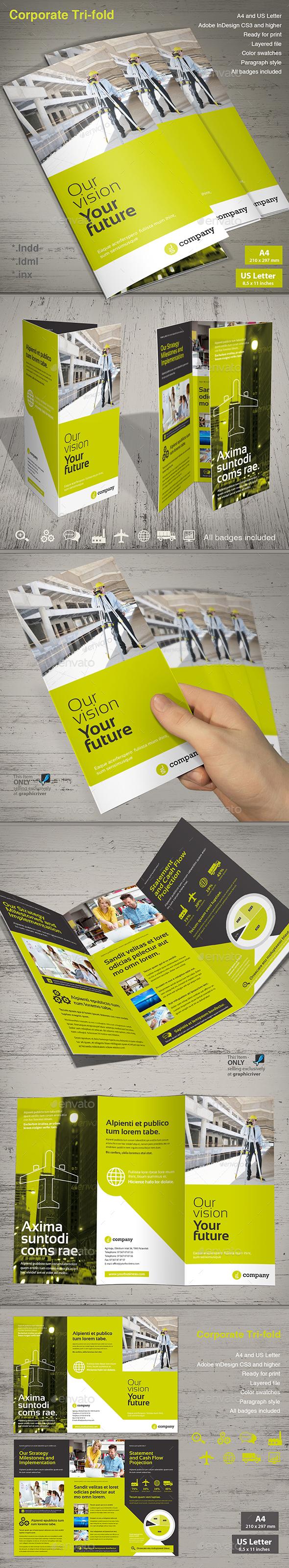 Corporate Tri-fold Vol. 3 - Corporate Brochures