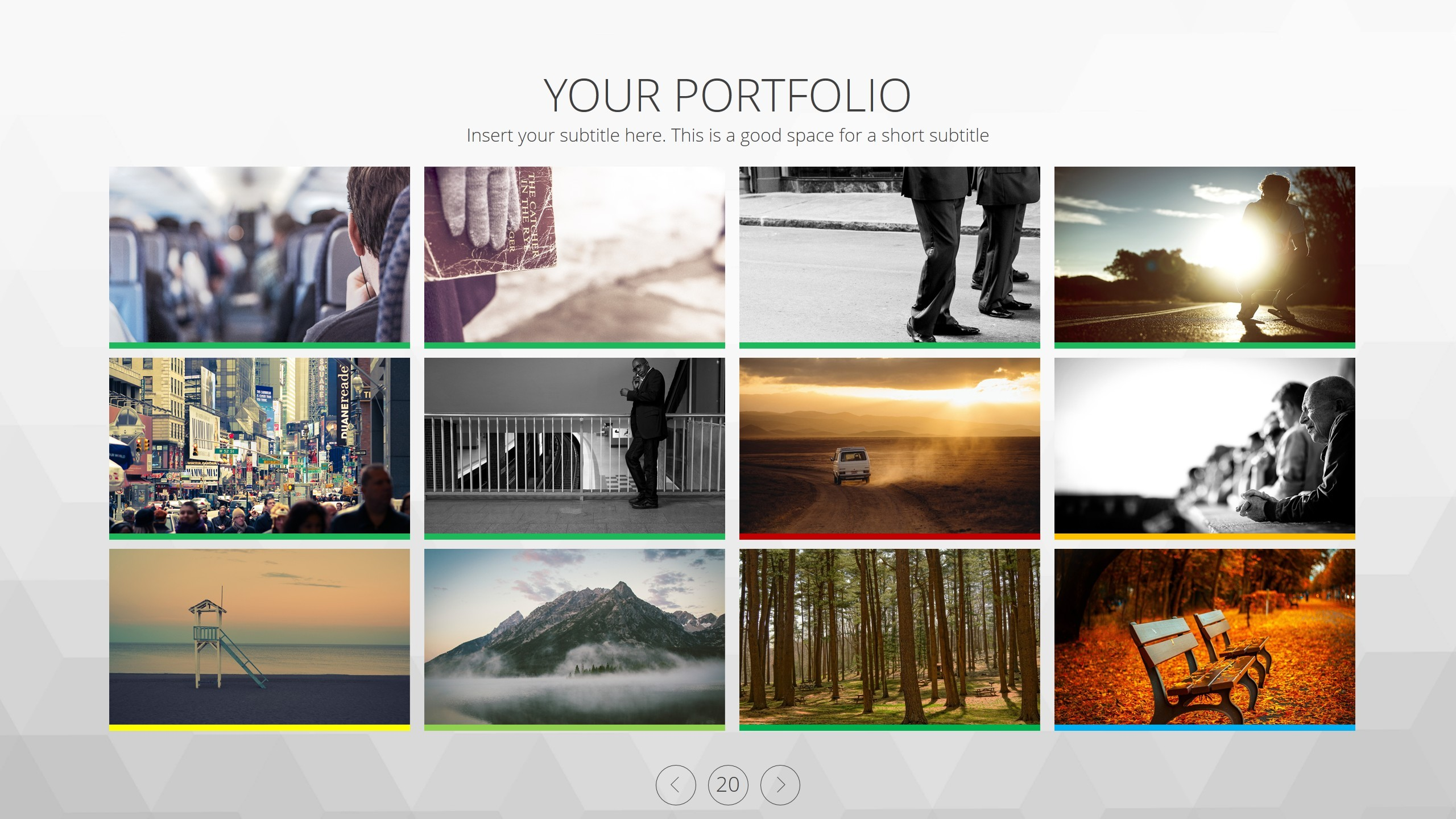 Akusara portfolio powerpoint template by balikucreative graphicriver akusara portfolio powerpoint template toneelgroepblik Image collections